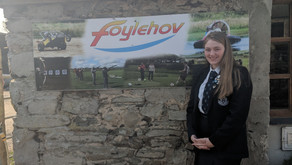 Foylehov Charity Fun Day - Interview with Jeannie Mark