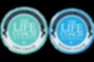 The Life Coach School Certified logos