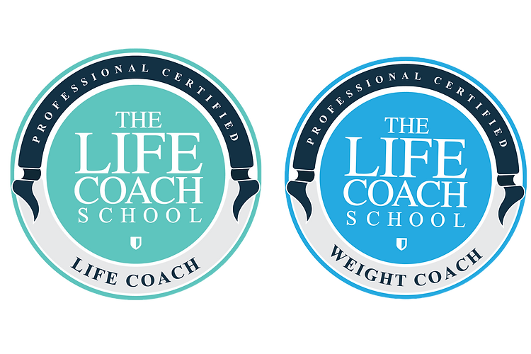 The Life Coach School Certified logos