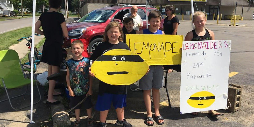 Lemonade Stand Franklinville Blount Library