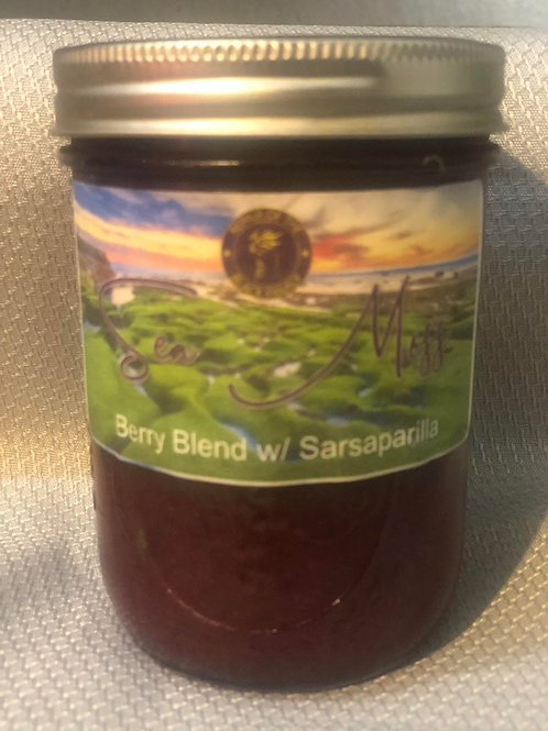 Blueberry - Sarsaparilla Sea Moss