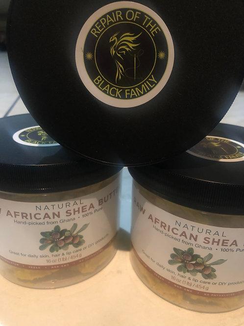 Raw African Shea Butter 100% Pure (1lb)