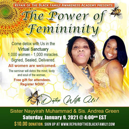Power of Femininity 1,000 Women - 1,000 Miracles