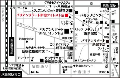 新宿フォレスト店地図