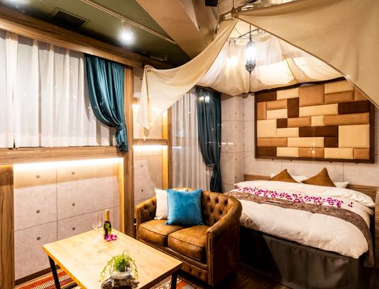 新宿歌舞伎町とは思えないオシャレなホテル
