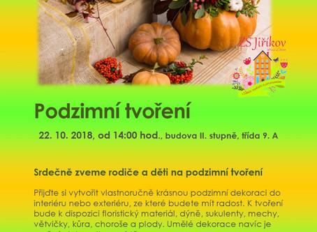 Pozvánka na Podzimní tvoření
