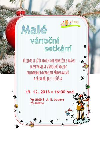 Pozvánka na malé vánoční setkání