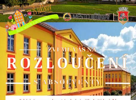 Slavnostní rozloučení se žáky 9. ročníků pod záštitou MÚ Jiříkov