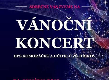 Pozvánka na koncert 24. 12. od 14:00 hod.