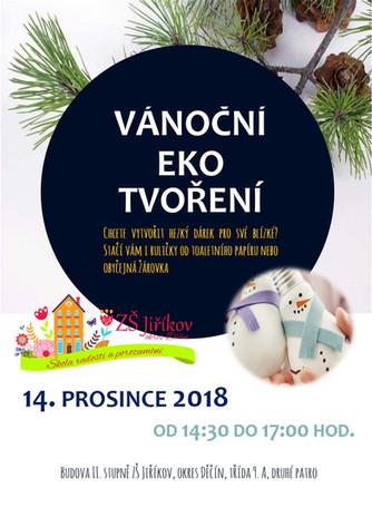 """Pozvánka na vánoční """"eko"""" tvoření"""