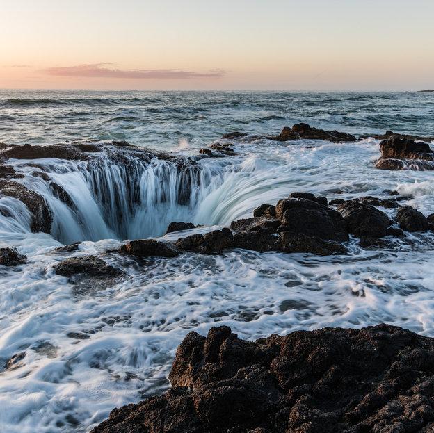Thors Well, Oregon Coast