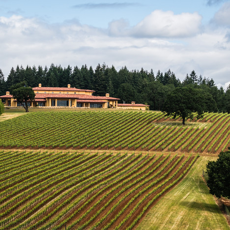 Domaine Serene, Dundee Hills, Oregon