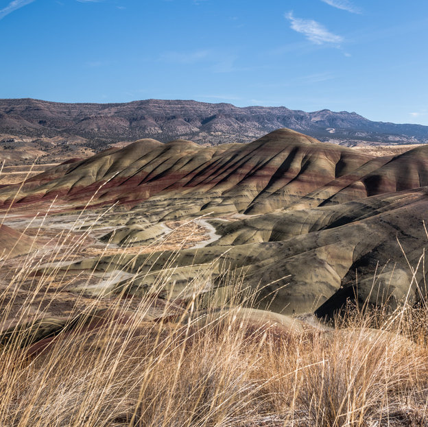 Painted Hills, Central Oregon