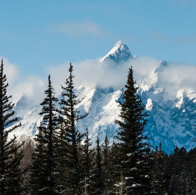 Grand Teton, Mtn, Wyoming