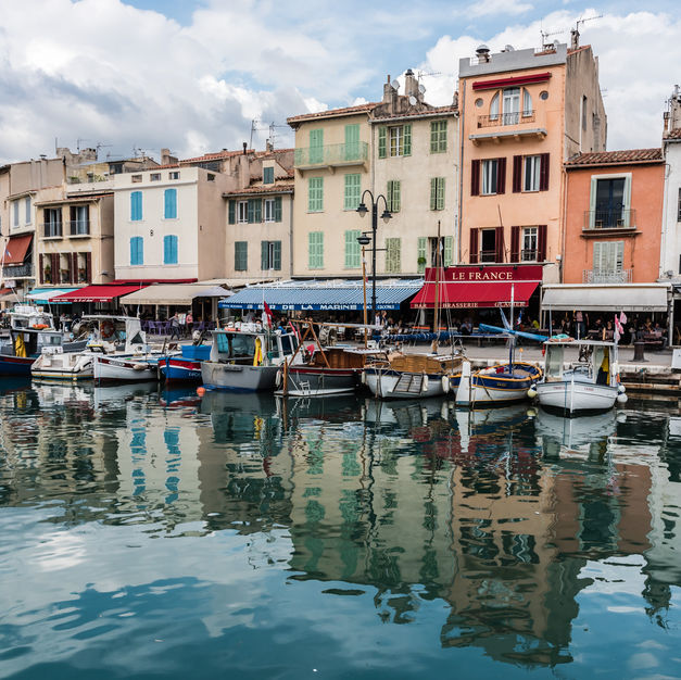 Cassis Harbor, Southern France