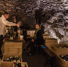 Tasting Cave, Chateauneuf du Pape