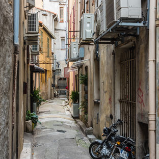 Rome Alley, Italy