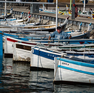Fishing Fleet, Cassis, France