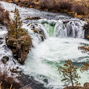 Steelhead Falls, Deschutes River, Oregon