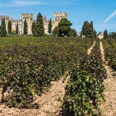 Chateau des Fines Roches, Chateauneuf du Pape, France
