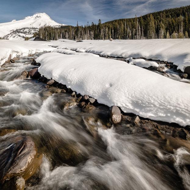 White River, Mt Hood, Oregon
