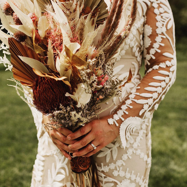 Boho Rustic Bridal Bouquet