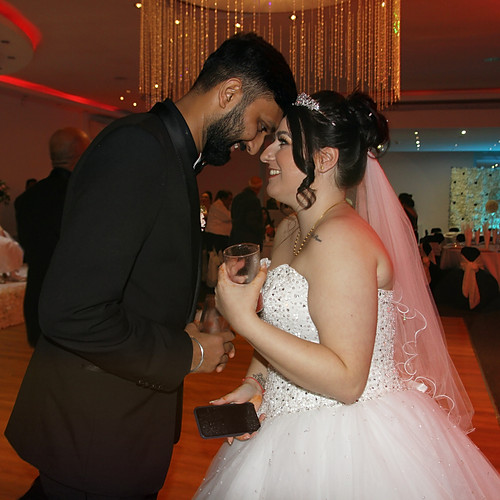 Chelsea & Chirag wedding party