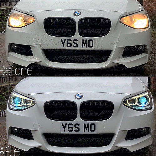 XENON ANGEL HEADLIGHTS BMW 1 SERIES F20 2011-2014