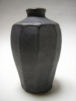 Shino woodfired vase