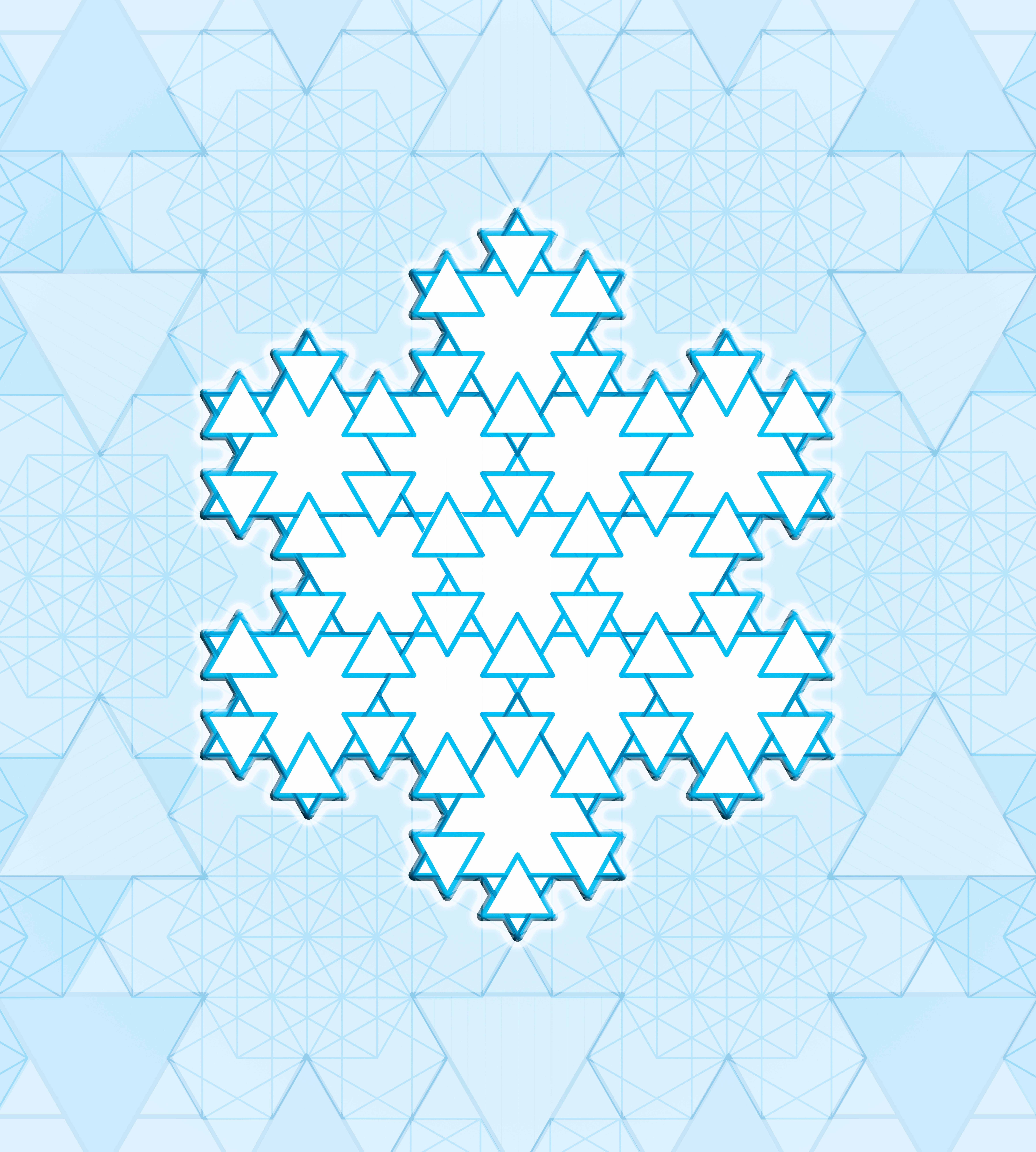 Isotropic Snowflake