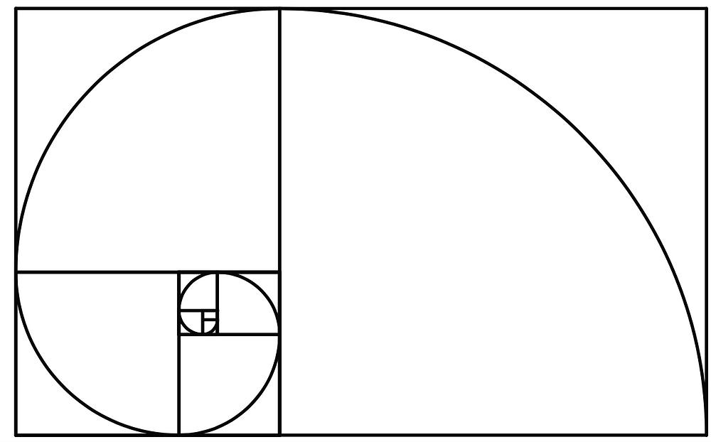 Vector-Golden Mean Spiral