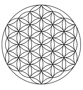 Free Vector Image- Flower Of Life