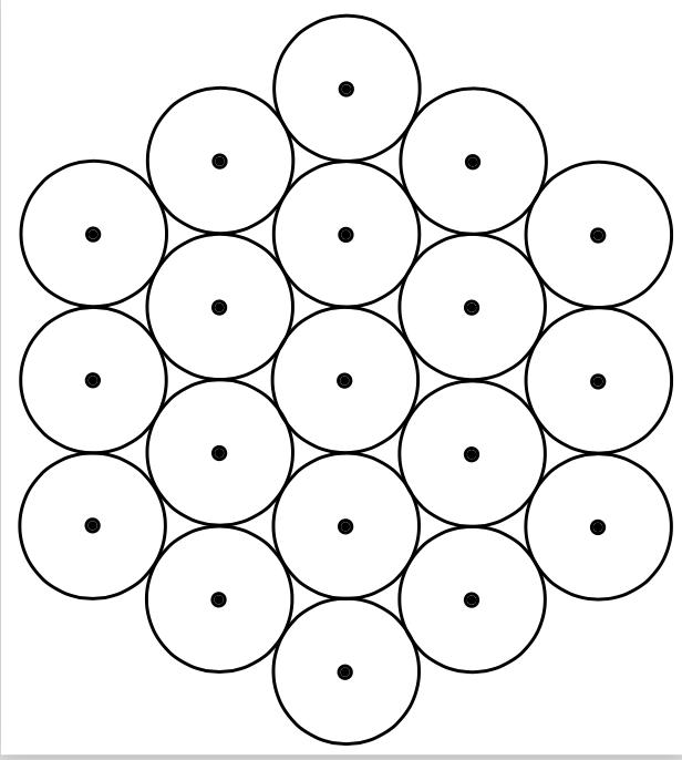 Vector-Hexagon Circle Array