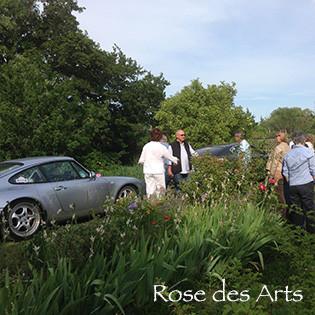 Club Porsche Atlantique au Jardin
