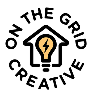 ON THE GRID CREATIVE LOGO