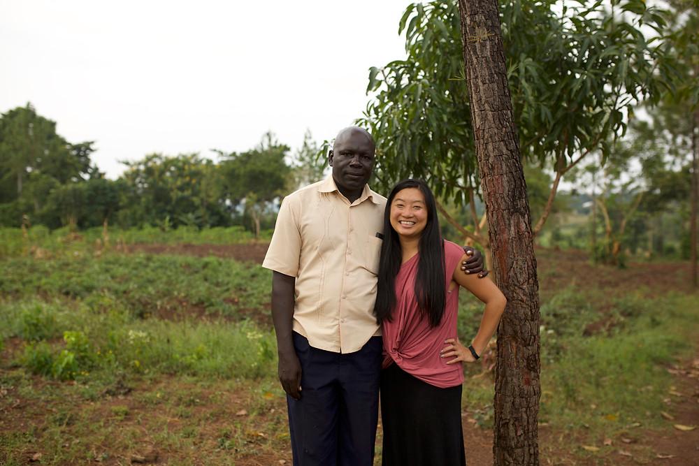 Founders - Daniel Mawanda & Michelle Jue