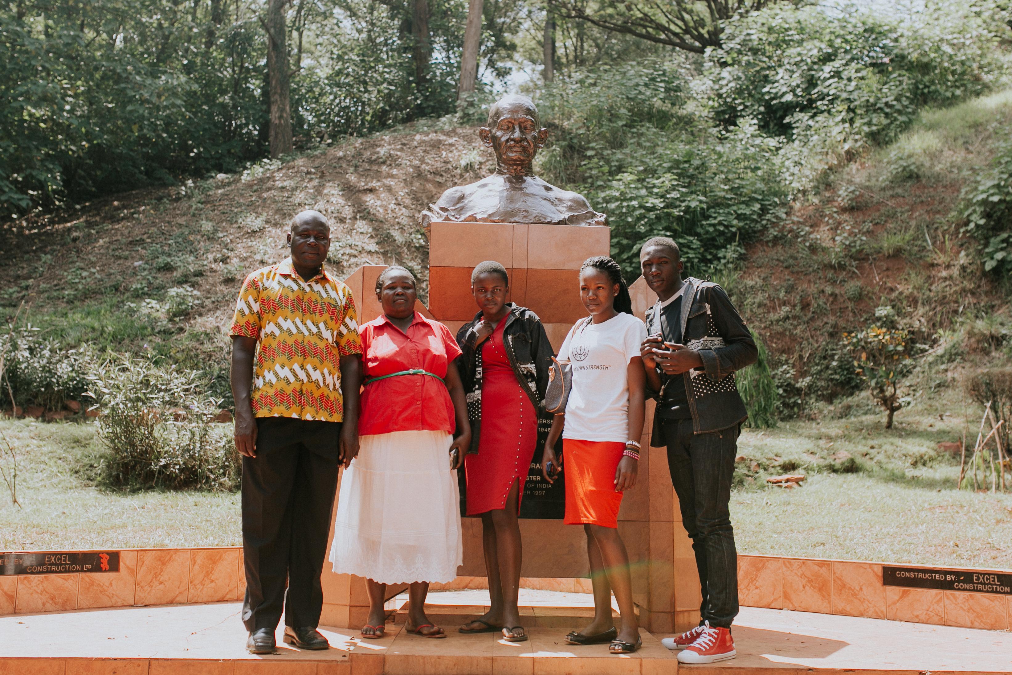 Mawanda Family - Source of the Nile