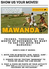 Move For Mawanda Fundraiser