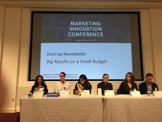 MARKETING INNOVATION CONFERENCE 2016 - Harvard Business School