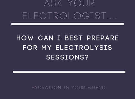 How to best prepare for your electrolysis session