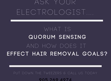 Quorum Sensing and Hair Regrowth