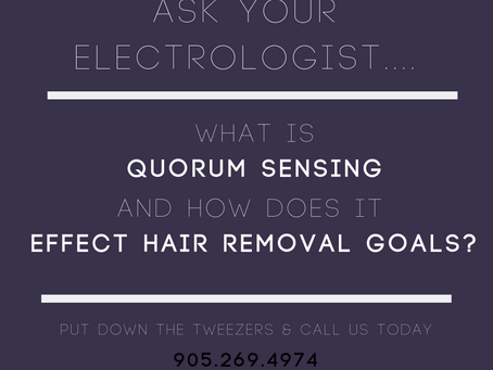 Quorum Sensing and Hair Regrowth