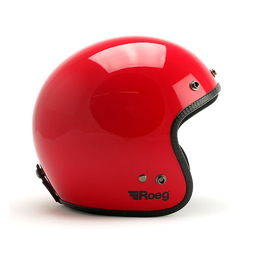 CASCO JET ROEG FLAMING RED GLOSS