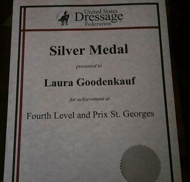 Laura Goodenkauf Dressage, USDF Silver Medal, Los Angeles, CA