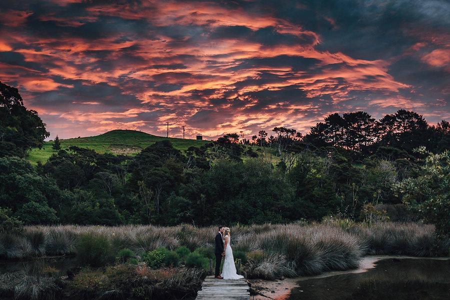 wedding venue matakana auckland garden wedding
