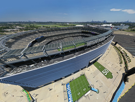 Flying a Drone at Metlife Stadium...and Avoiding Getting Arrested