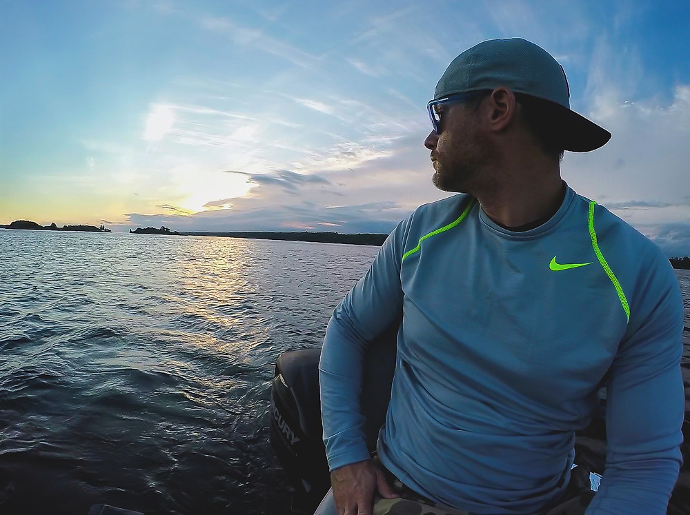 (1000 Islands) Early morning on the St Lawrence River filming the 2018 BassMasters with the UFL