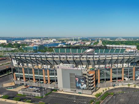 Aerial Views of the Philadelphia Eagles Lincoln Financial Field