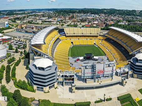 Drone Photography at Heinz Field in Pittsburgh