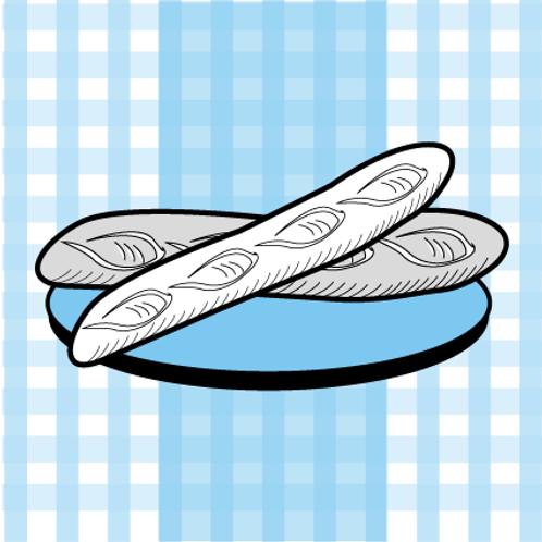 La baguette de pain de notre boulanger Sébastien